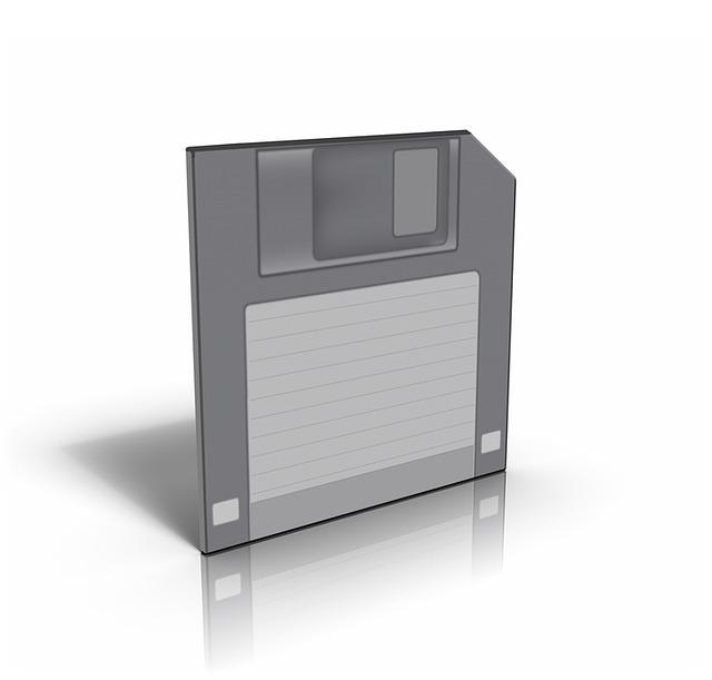 Windows10にフロッピーディスクを設定する方法